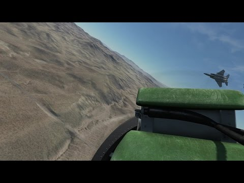 DCS: Viggen - Some guy tried fighting the F-15