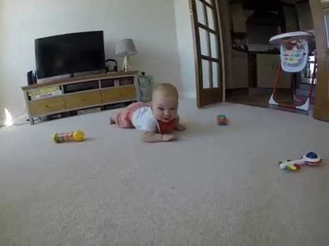 This Determined Baby Wants To Eat A Gopro Camera