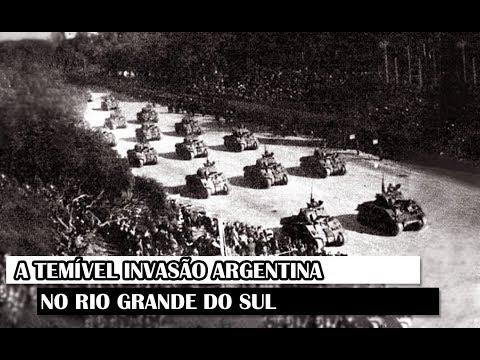 Militar News #46 – A Temível Invasão Argentina No Rio Grande Do Sul