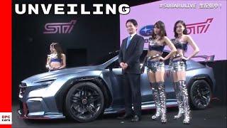 Subaru Viziv STI Performance Concept Unveiling