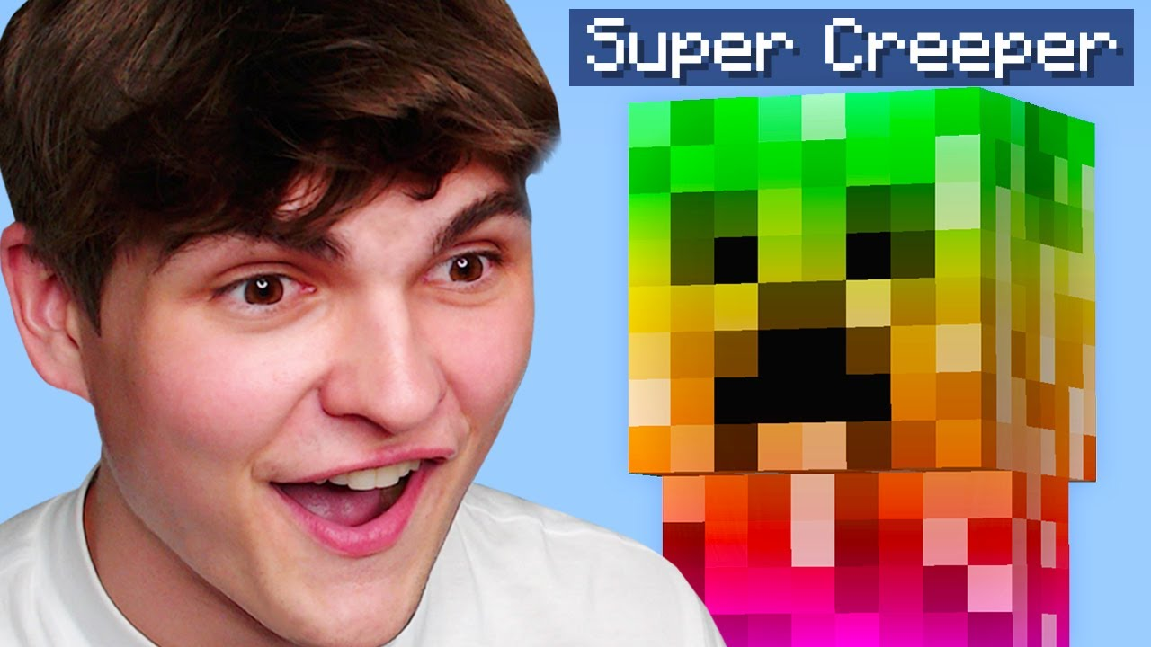 Minecraft, But I Added Custom Creepers...