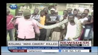 Kisumu Mini Omieri Killed
