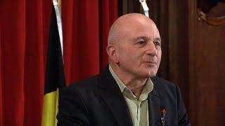 P. Mesnard - Directeur de l'ASBL Mémoire d'Auschwitz - 2014-10