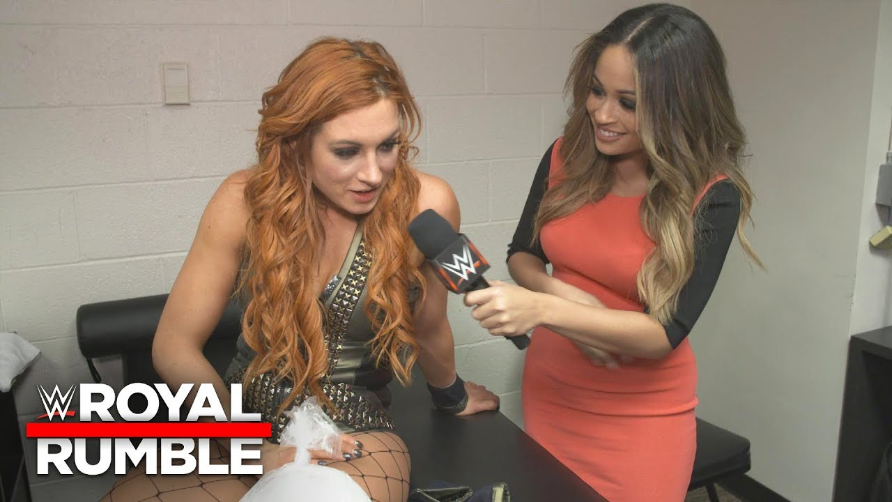 Becky Lynch is on a mission to main-event WrestleMania: WWE Exclusive, Jan. 27, 2019