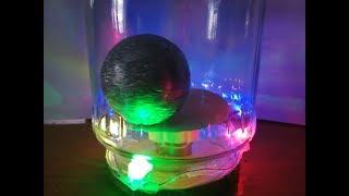 Make a foil ball display case
