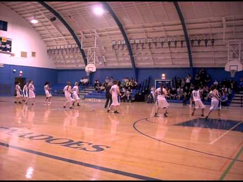 Trona High School Varsity Girls Basketball Team's Dance