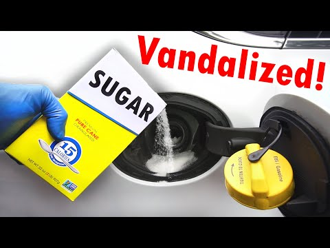 How to Clean Out the ENTIRE Fuel System (Vandalized with Sugar in Gas Tank)