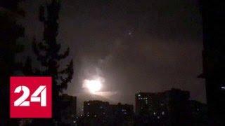 Молния! ВС США, Франции и Великобритании нанесли авиаудары по объектам в Сирии - Россия 24