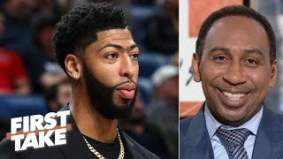 Download The Pelicans should offer Anthony Davis a max deal, then build around Zion - Stephen A. | First Take Mp3 and Videos