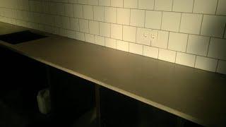 Подробно: изготовление  железобетонной кухонной столешницы + попутный обзор  инструмента...