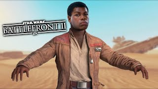 Star Wars Battlefront 2 - Funny Moments #29 Finn is Stupid