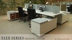 Flex Desking System, Cubicles,  Workstation, Modular Office Furniture, 888-993-3757 ext.302