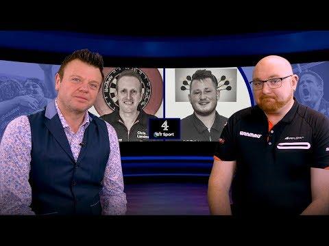 Geert de Vos vs Chris Landman or Derk Telnekes  Lakeside World Darts Championships  Show
