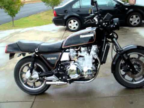 1982 KZ1300 A5 Z13 Z1300 Review - YouTube