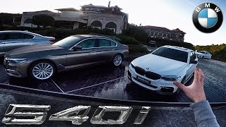 bmw 5 series g30 2017 m sport 540i review pov test drive