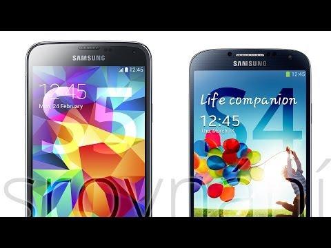 Samsung Galaxy S5 vs. Galaxy S4 (srovnání)