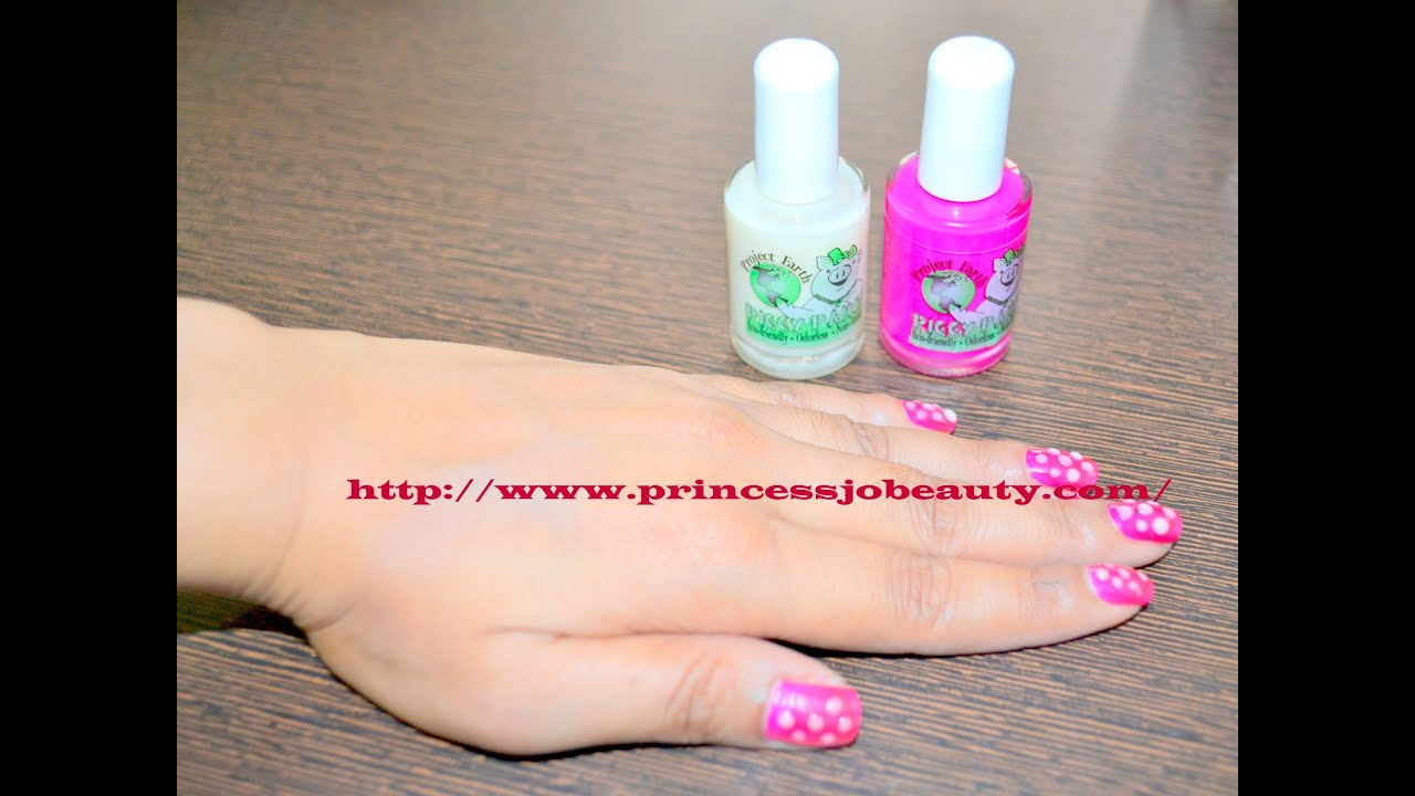 PIGGY PAINT Nail Polishes:child tested products!! - YouTube