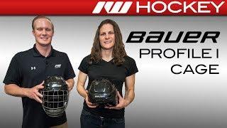 Bauer Profile I, II, III & RE-AKT Helmet Cage Insight