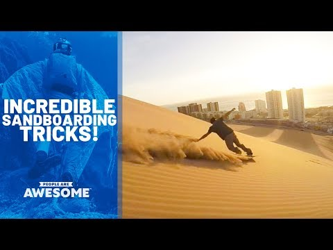 Incredible Sandboarding Tricks | People Are Awesome