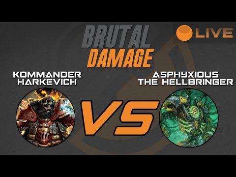 Brutal Damage Weekly Warmahordes - Harkevich vs Asphyxious3