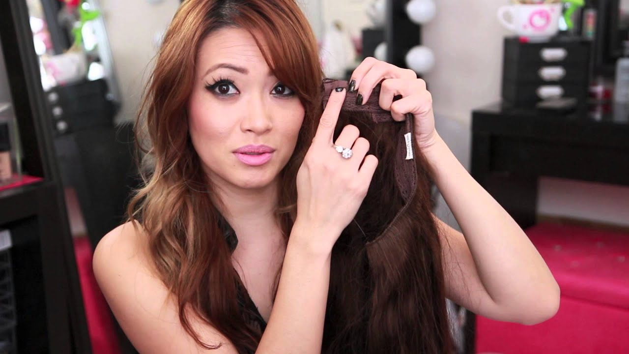 Halo Hair Extension Review Youtube