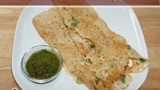 Rava Dosa (Crispy Indian Crepe) Recipe by Manjula