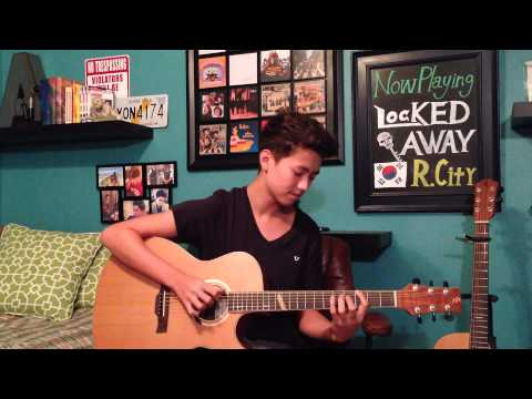 Locked Away - R. City ft. Adam Levine - Fingerstyle Guitar Cover