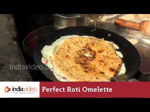 Perfect Roti Omelette From The Streets Of Chandigarh, Haryana