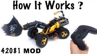 How Works the Lego Technic MOD 42081 ? BuWizz V2.0