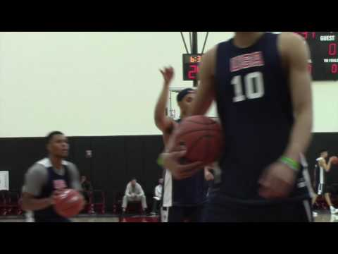 Hoop Summit: Oregon Ducks signee, son of former Blazer highlight USA workouts