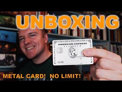 American Express Platinum METAL CARD Unboxing & Benefits