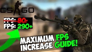 HOW TO MAXIMIZE FPS IN COUNTER STRIKE: GLOBAL OFFENSIVE| 2018 CSGO FPS INCREASE