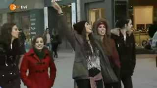 Cimorelli walks around Frankfurt, Germany