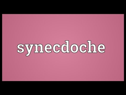 Synecdoche Meaning