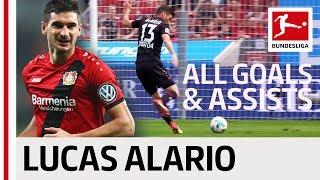 Lucas Alario - All Goals & Assists 2017/18