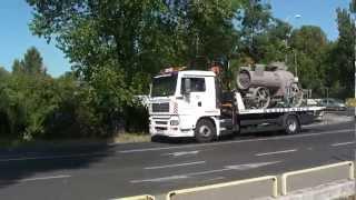 Transport maszyny parowej.MTS