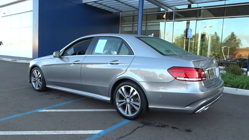 2014 mercedes benz e class pleasanton walnut creek for Pleasanton mercedes benz