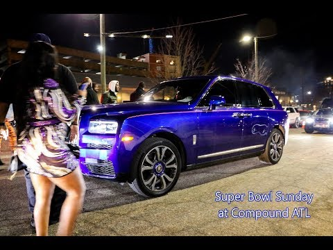 WhipAddict: Super Bowl Sunday at Compound, Celebrity Whips, QC, Gucci Mane, 2 Chainz, Meek Mill