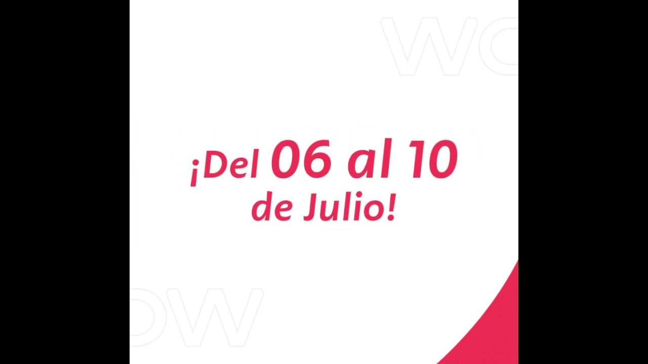 ¡Ya llega el CYBER WOW del 6 al 10 de julio!