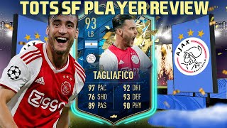 The Perfect Defender 93 Totssf Tagliafico Player Review Fifa 20 Ultimate Team Youtube