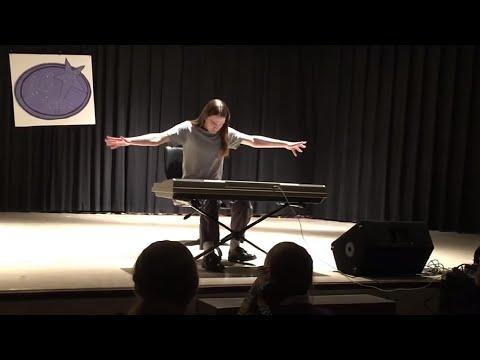 Senbonzakura (千本桜), High-School Talent Show Performance (EC Idol), Piano Cover – Hatsune Miku
