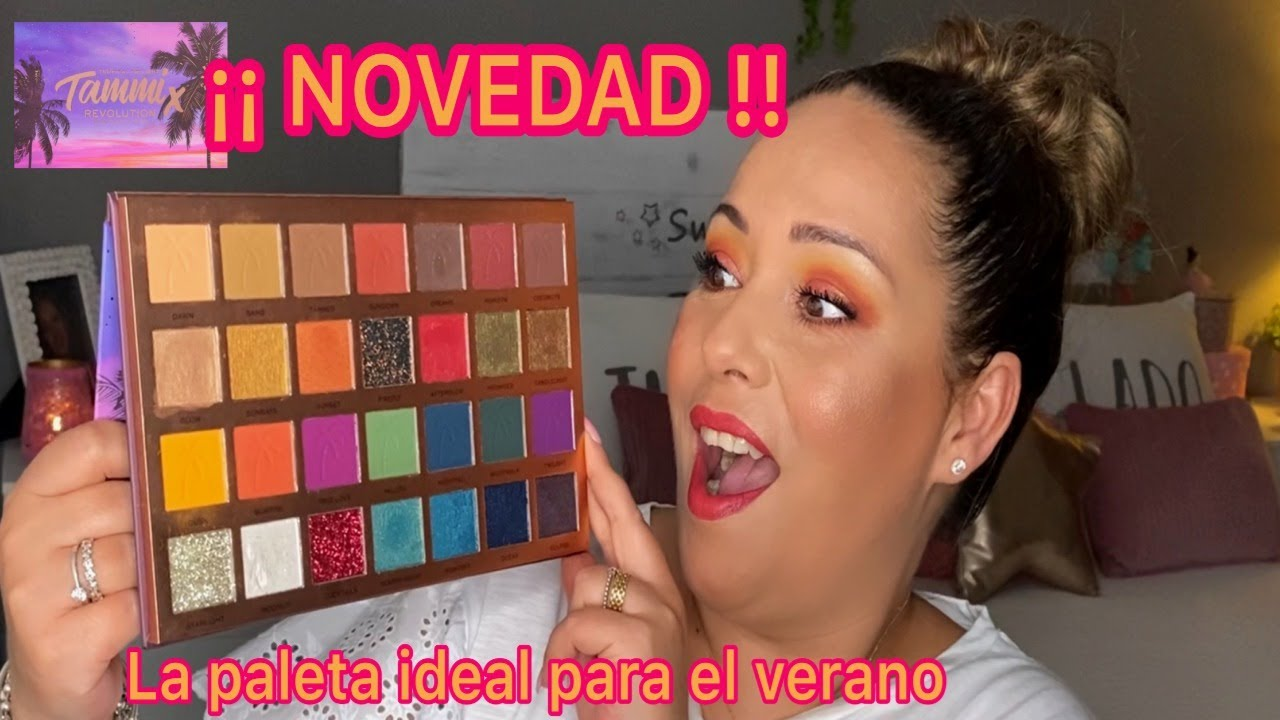 NOVEDAD¡¡ MAKEUP REVOLUTION X TAMMI TROPICAL TWILIGHT