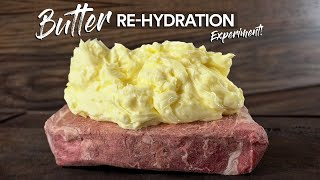 I Re-Hydrated a steak with 1lbs of BUTTER and this happened!