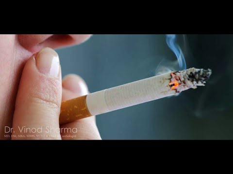 How Smoking and Heart disease are linked in Hindi by Dr. Vinod sharma