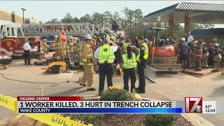 Construction company working at site of fatal trench collapse releases statement