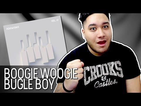 Pentatonix - Boogie Woogie Bugle Boy (PTX Vol. IV   Classics EP) REACTION!!!