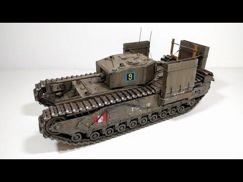 AFV Club 1/35 Churchill Mk.III (Dieppe Raid) build review