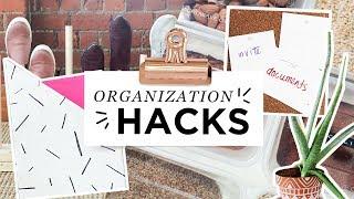 SUPER EASY ORGANIZATION HACKS! ft. Jenny Mustard!