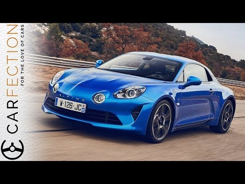 NEW Alpine A110: Better Than A Porsche Cayman? - Carfection