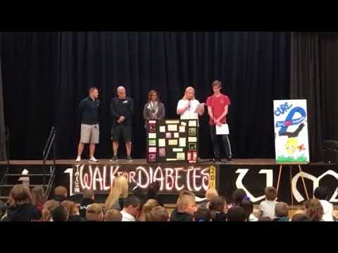 Tinicum school diabetes walk. ABC news coverage 2017